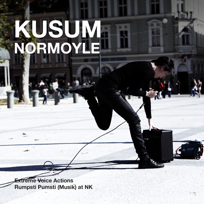 [ar051] KUSUM NORMOYLE | EXTREME VOICE ACTIONS